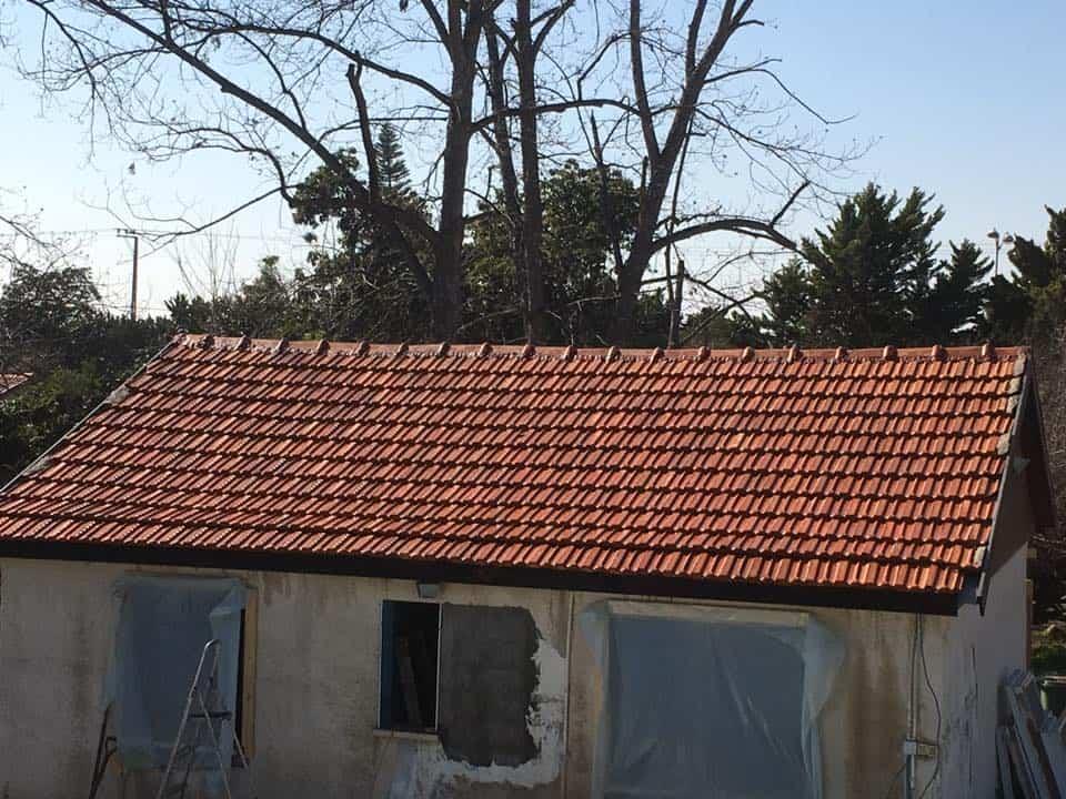 גג רעפים אחרי
