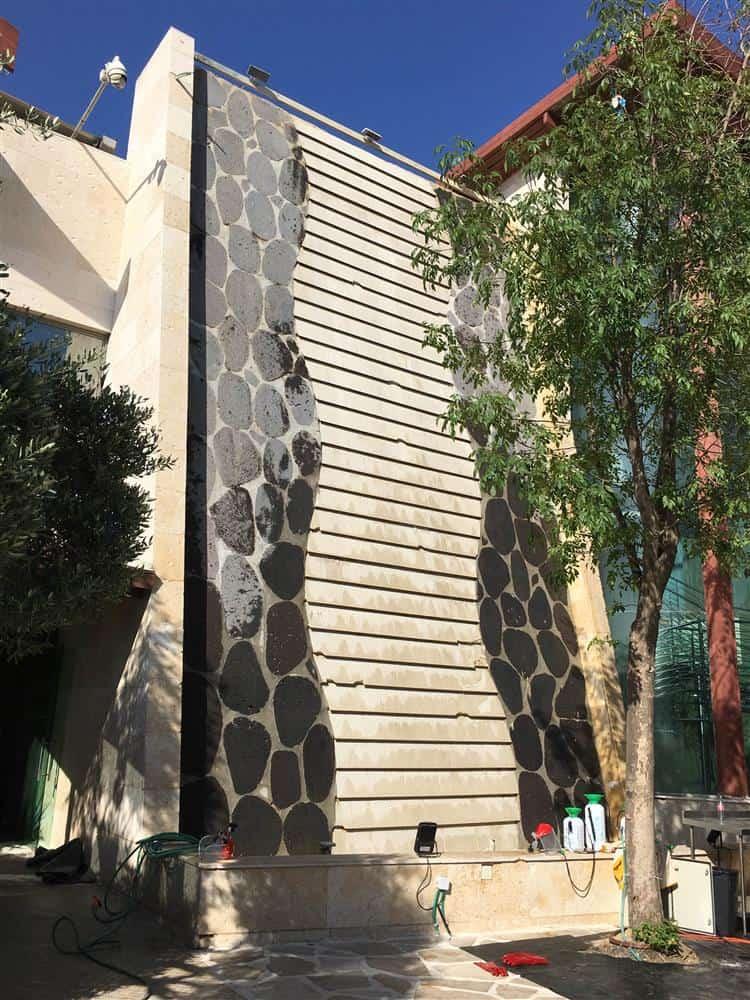 קיר כניסה לקאלה אחרי
